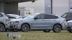 BMW X4 Erlkönig Facelift