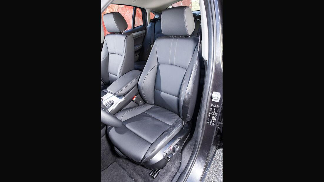 BMW X4, Fahrersitz