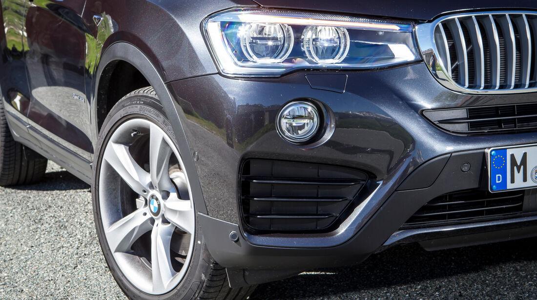 BMW X4, Frontscheinwerfer