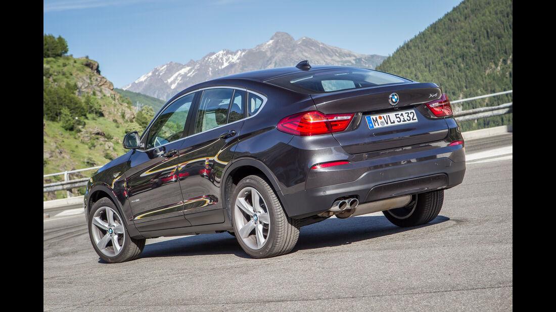BMW X4, Heckansicht