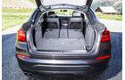 BMW X4, Kofferraum