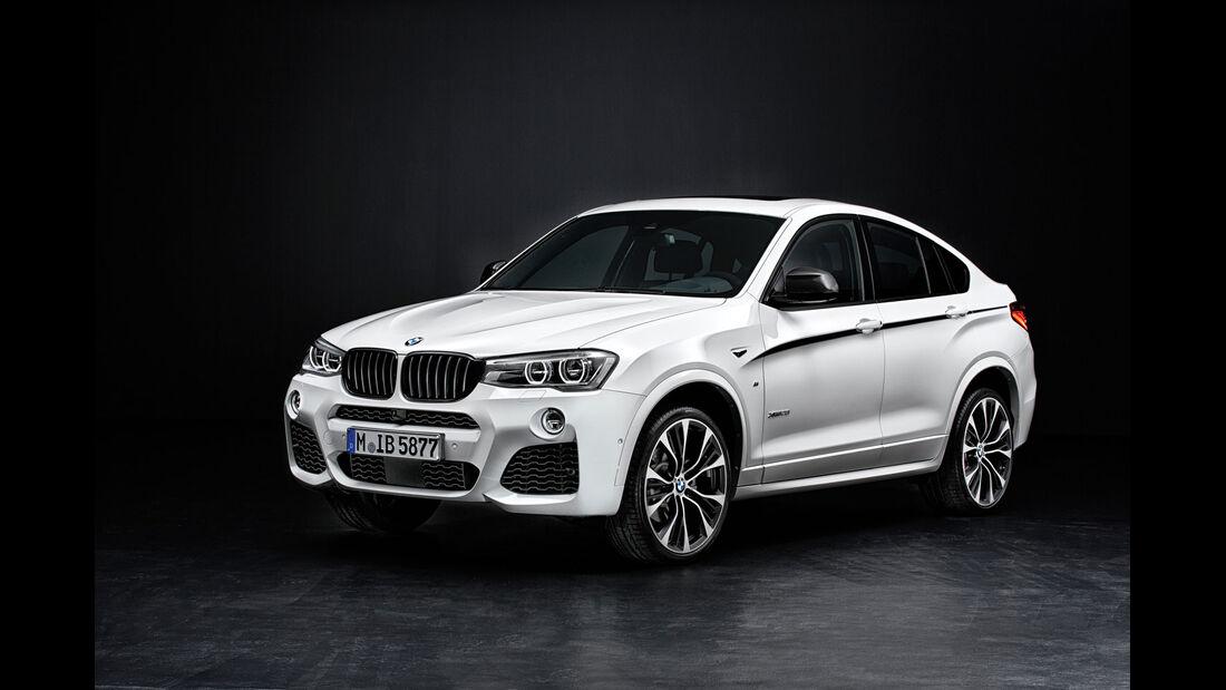 BMW X4 - M Performance Teile