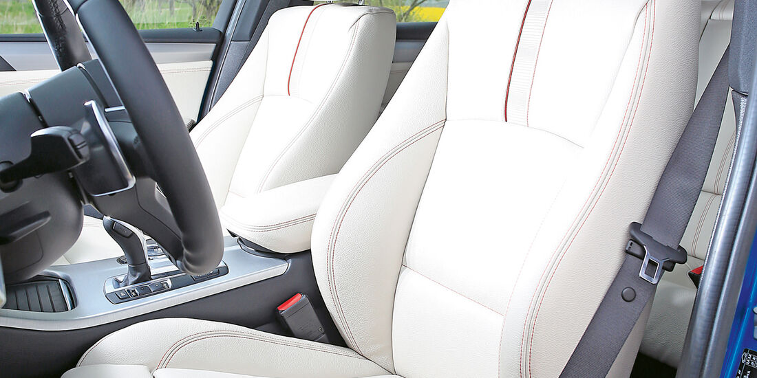 BMW X4 M40i, Fahrersitz