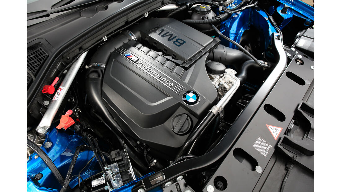 BMW X4 M40i, Motor