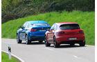 BMW X4 M40i, Porsche Macan GTS, Heckansicht