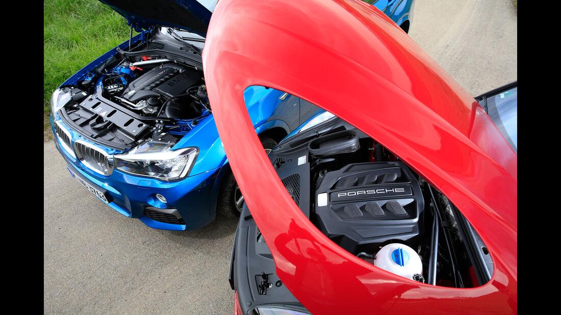 BMW X4 M40i, Porsche Macan GTS, Motoren
