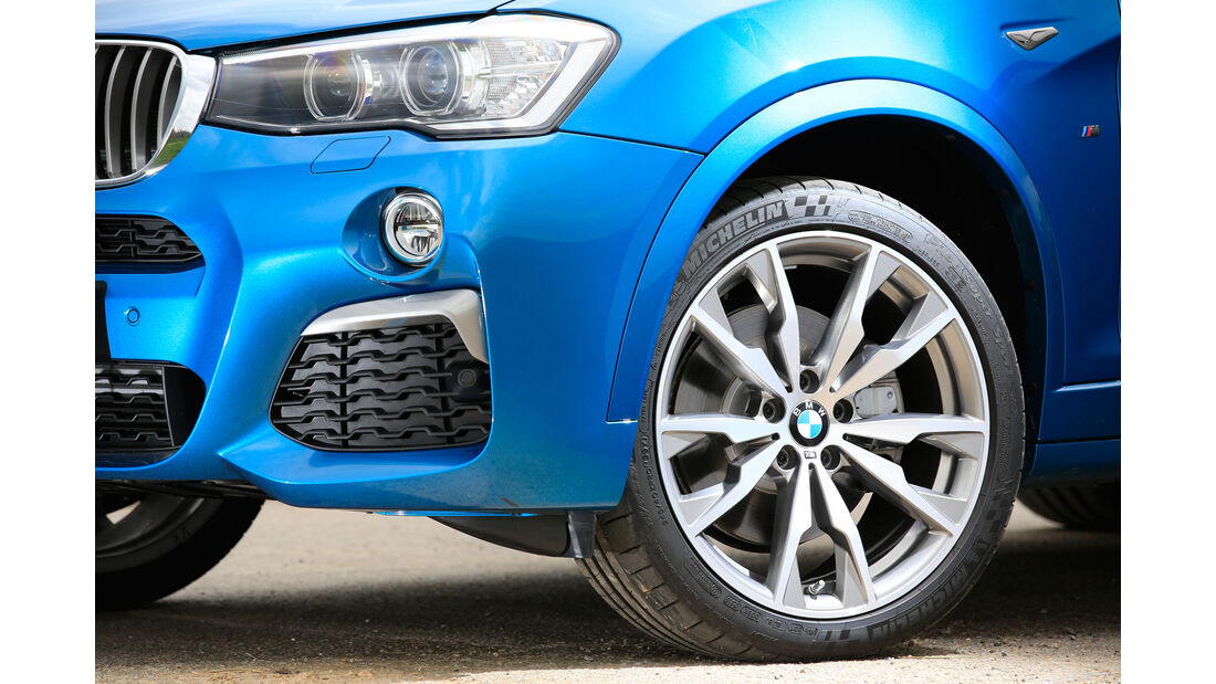 BMW X4 M40i, Rad, Felge