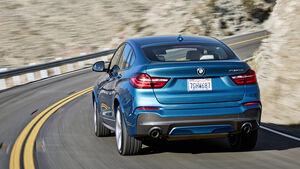 BMW X4 M40i, SUV, Fahrbericht, 02/2016