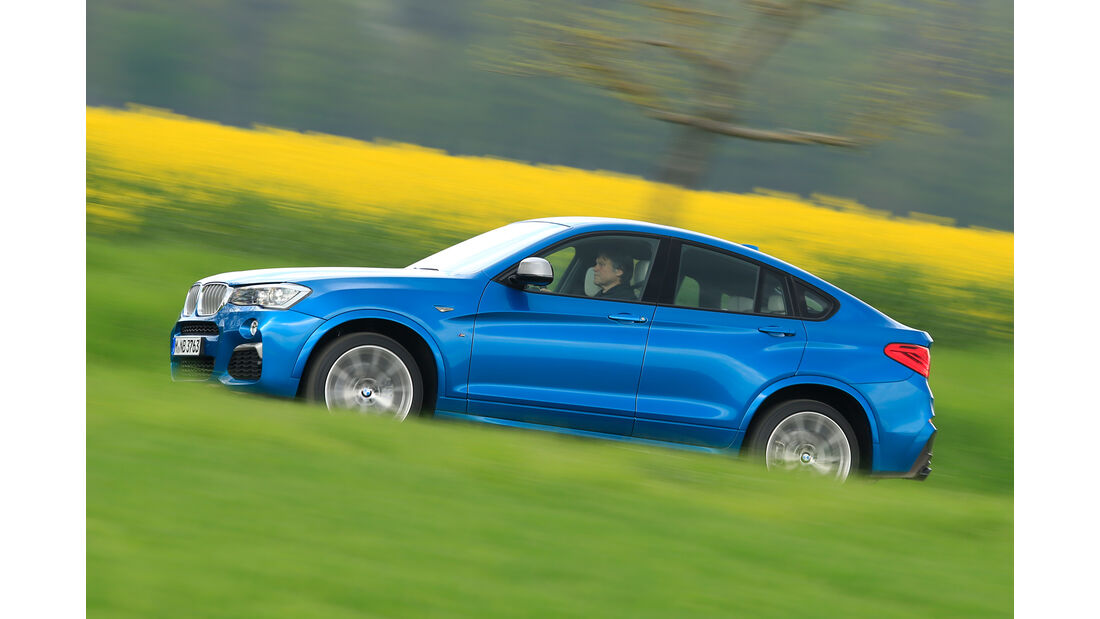BMW X4 M40i, Seitenansicht