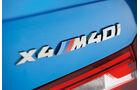 BMW X4 M40i, Typenbezeichnung