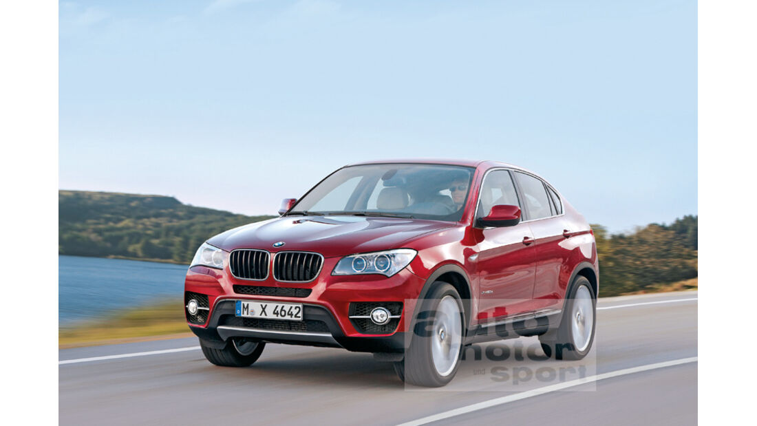 BMW X4, Retusche