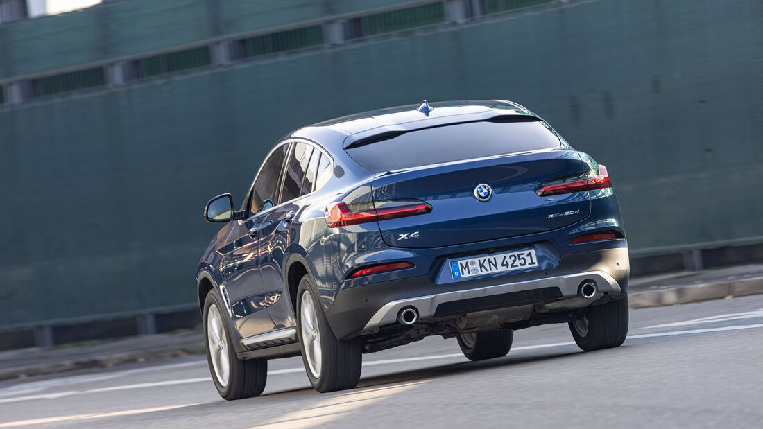 BMW X4 gegen VW Arteon Shooting Brake, ams 0321 Vergleichstest