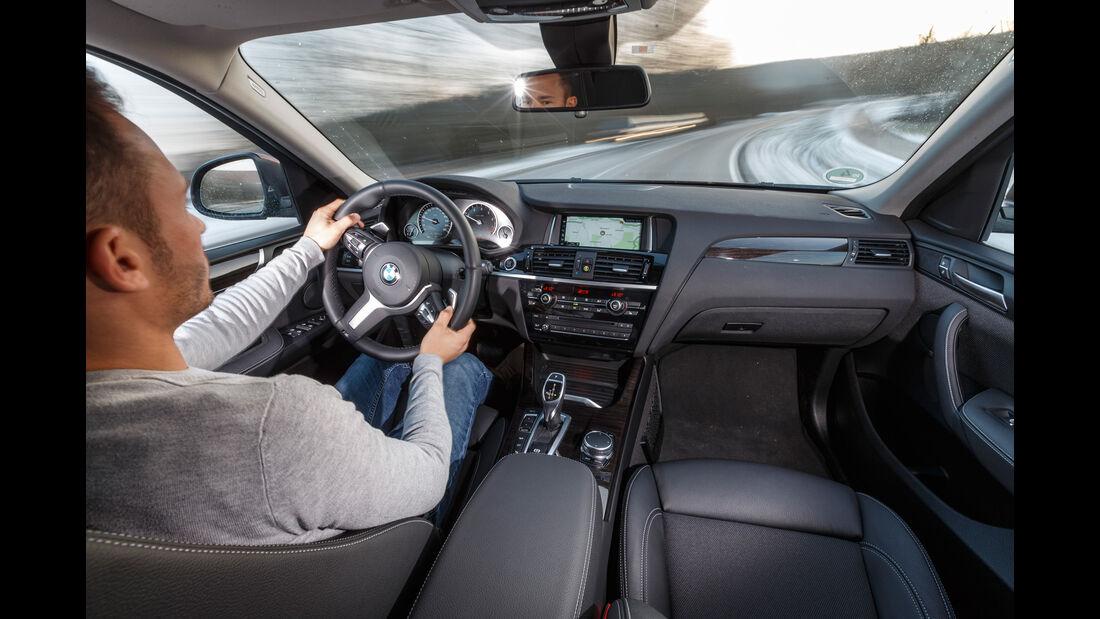 BMW X4 xDrive 28i, Cockpit