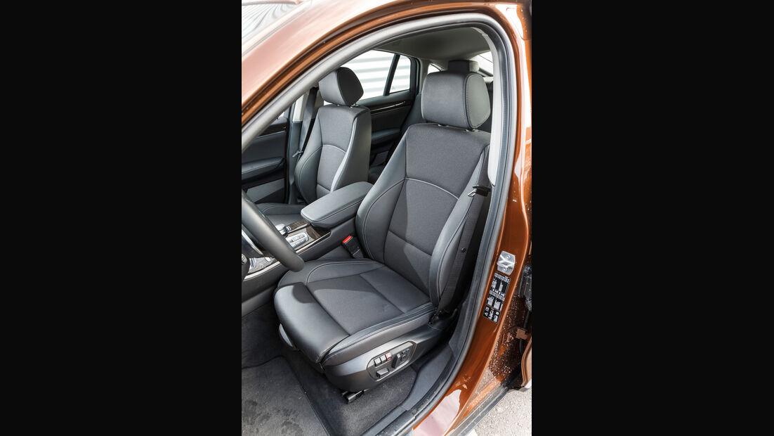 BMW X4 xDrive 28i, Fahrersitz