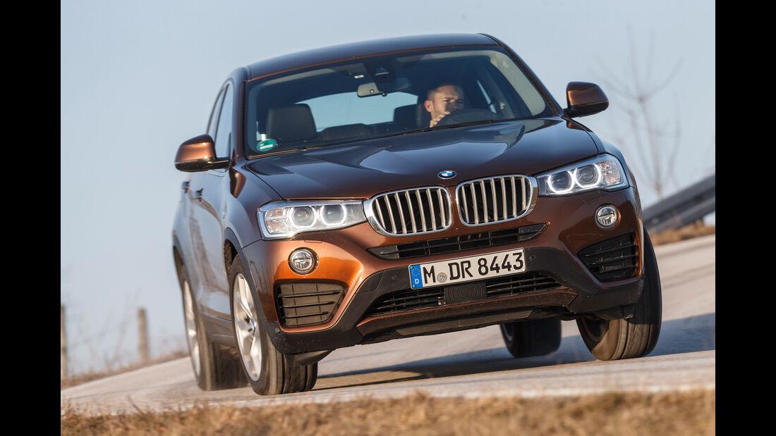 BMW X4 xDrive 28i, Frontansicht