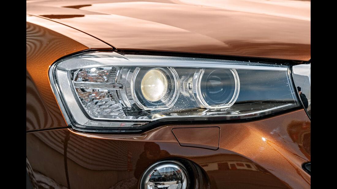 BMW X4 xDrive 28i, Frontscheinwerfer