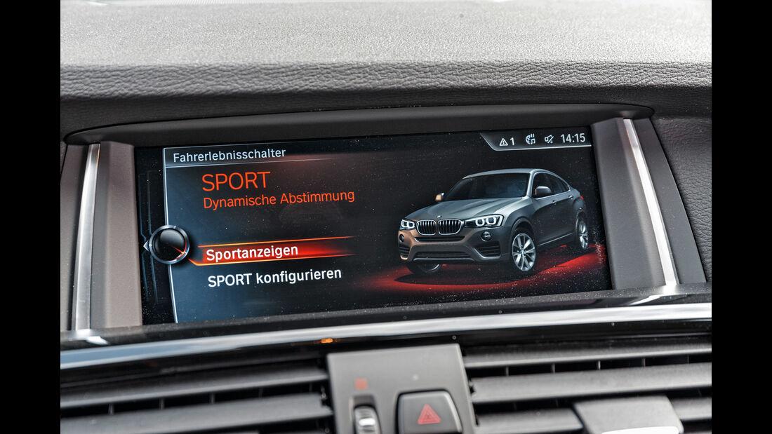 BMW X4 xDrive 28i, Infotainment