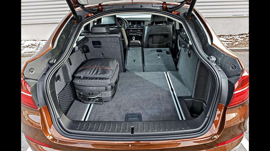 BMW X4 xDrive 28i, Kofferraum