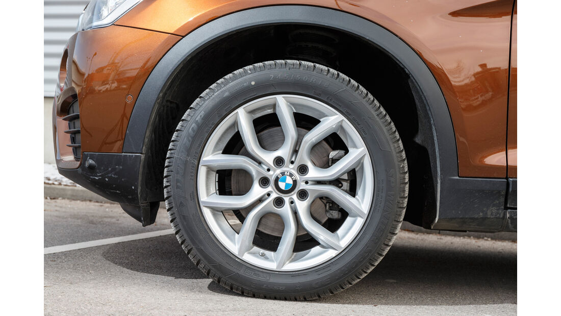 BMW X4 xDrive 28i, Rad, Felge