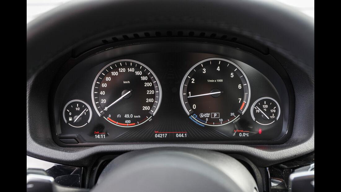 BMW X4 xDrive 28i, Rundinstrumente