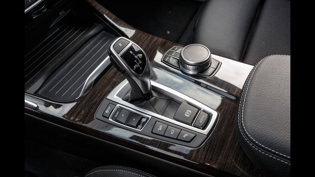 BMW X4 xDrive 28i, Schalthebel