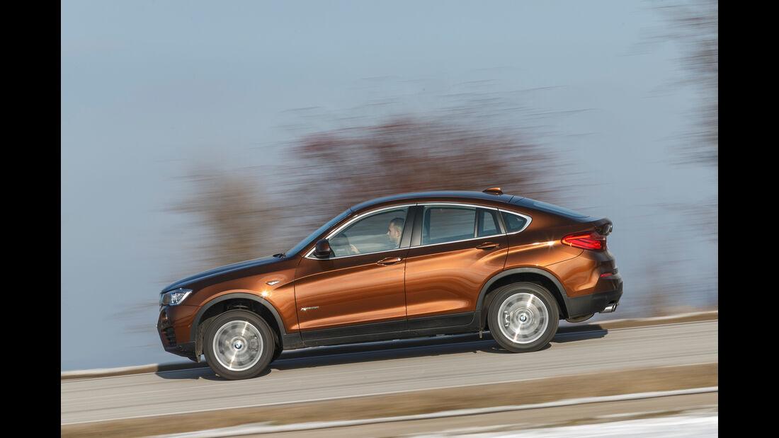 BMW X4 xDrive 28i, Seitenansicht