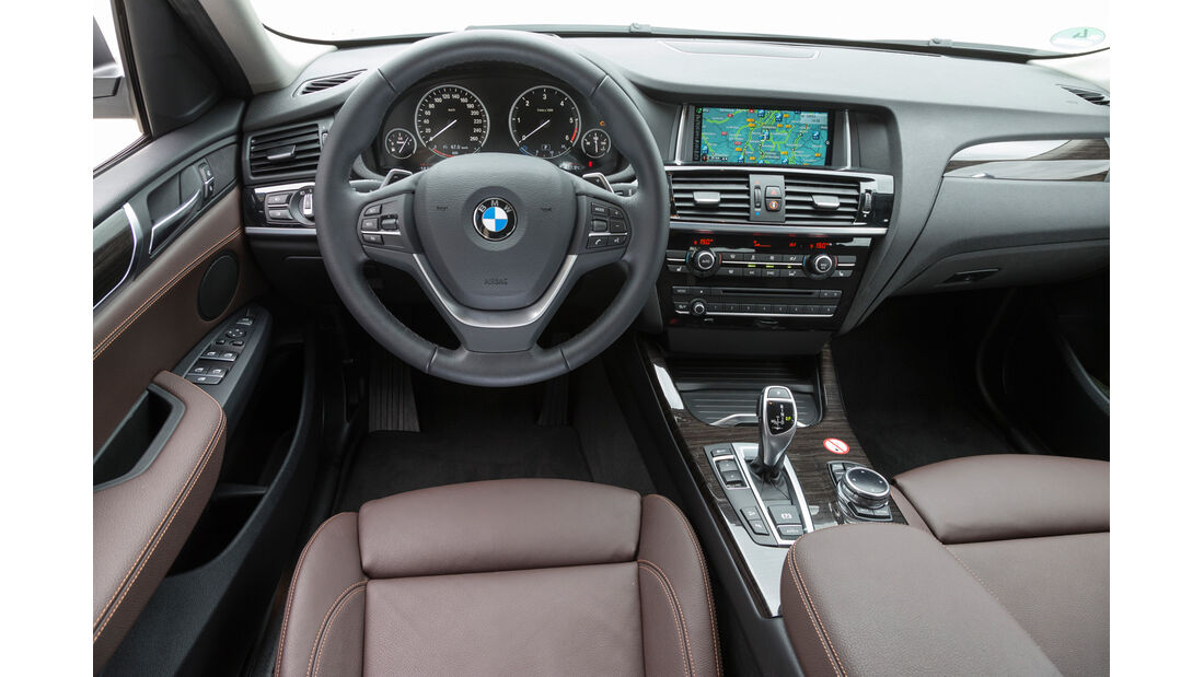BMW X4 xDrive 35d, Cockpit