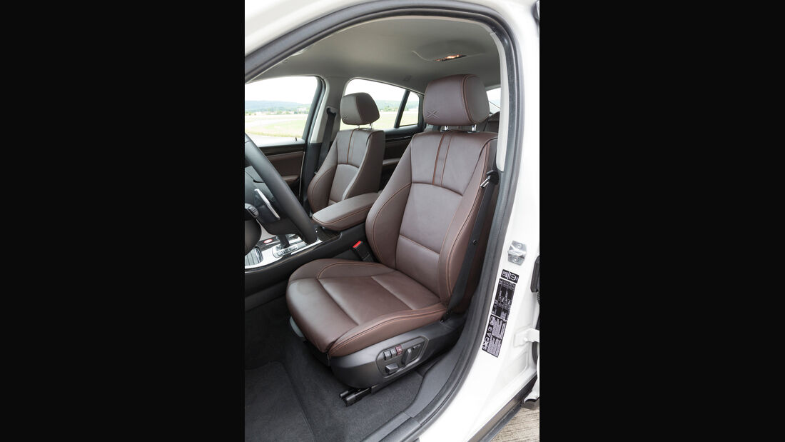 BMW X4 xDrive 35d, Fahrersitz