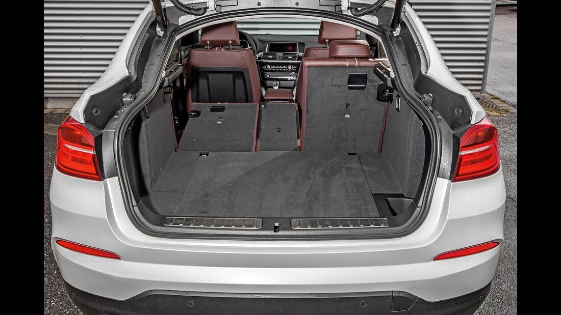 BMW X4 xDrive 35d, Fondsitz