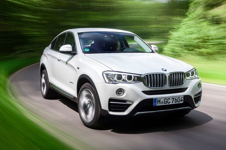 BMW X4 xDrive 35d, Frontansicht