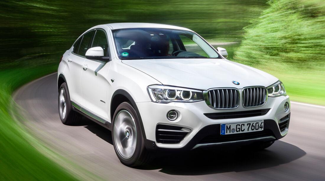 BMW X4 xDrive 35d, Frontansicht