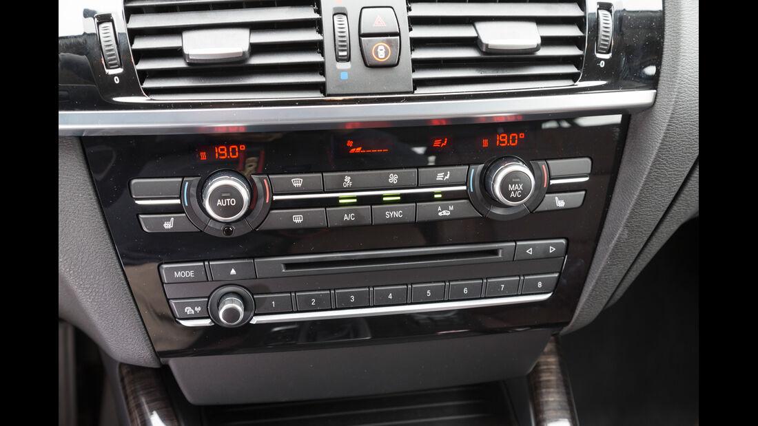 BMW X4 xDrive 35d, Radio, Luftausstömer
