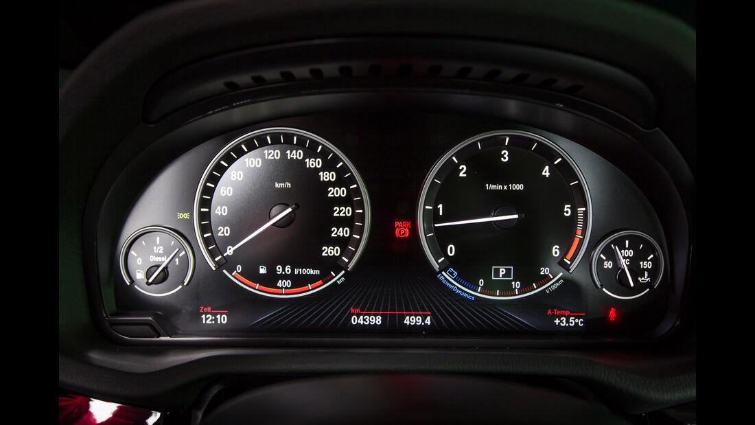 BMW X4 xDrive 35d, Rundinstrumente