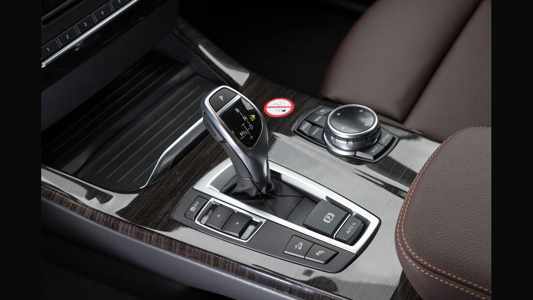 BMW X4 xDrive 35d, Schalthebel