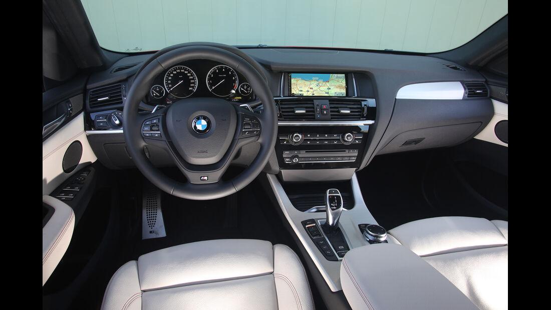 BMW X4 xDrive 35i, Cockpit