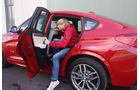 BMW X4 xDrive 35i, Fondsitz, Aussteigen