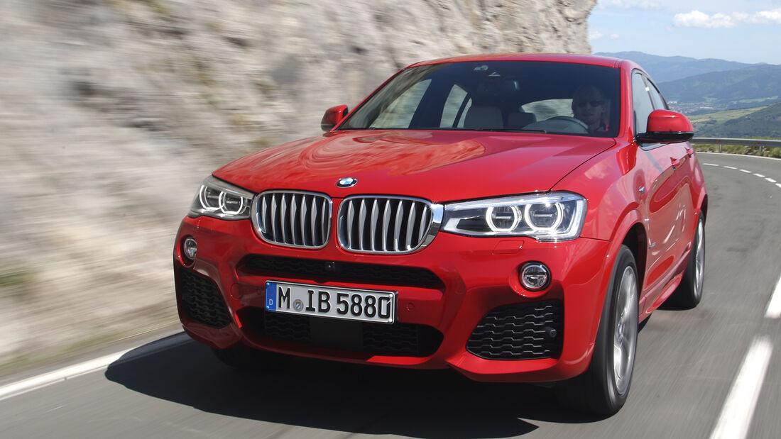 BMW X4 xDrive 35i, Frontansicht
