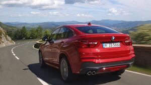 BMW X4 xDrive 35i, Heckansicht
