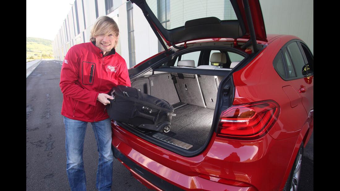 BMW X4 xDrive 35i, Kofferraum