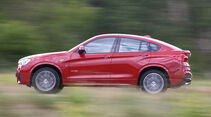 BMW X4 xDrive 35i, Seitenansicht