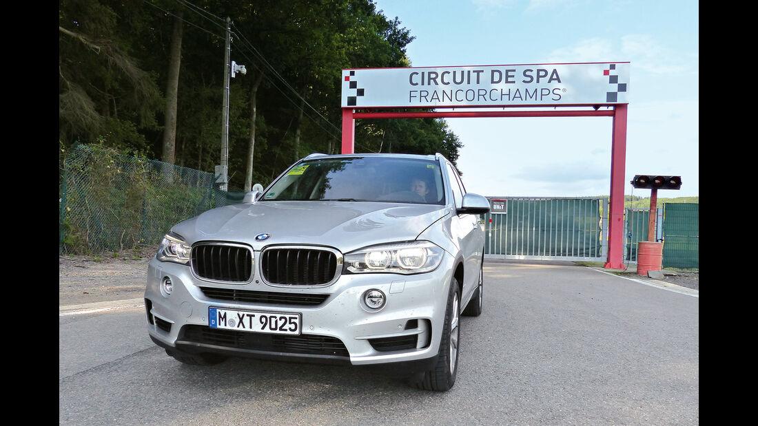 BMW X5 25d xDrive, Frontansicht