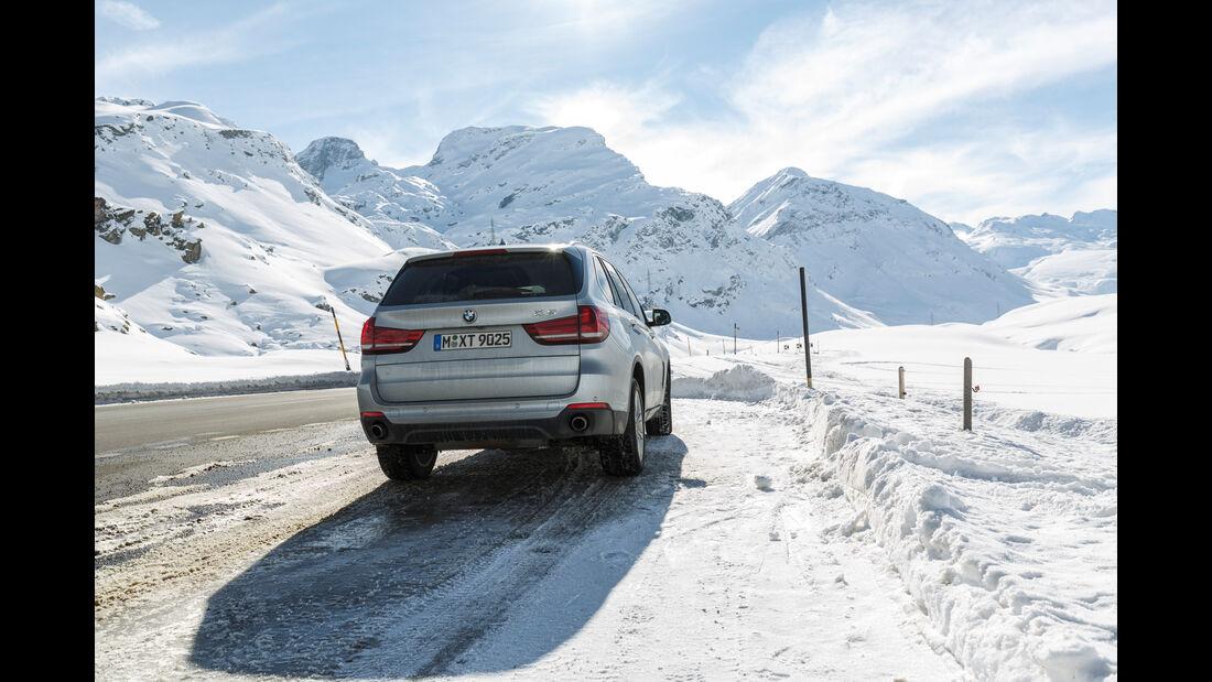 BMW X5 25d xDrive, Heckansicht