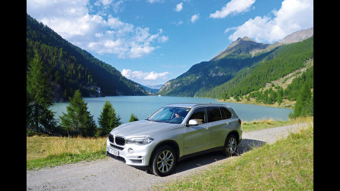 BMW X5 25d xDrive, Seitenansicht