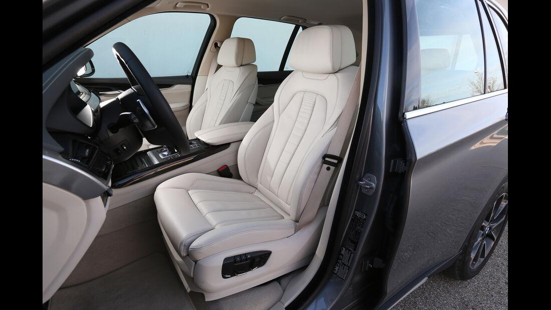 BMW X5 30d, Fahrersitz
