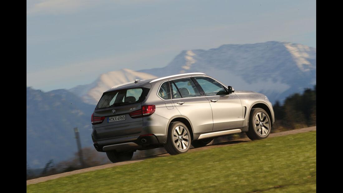 BMW X5 30d, Seitenansicht