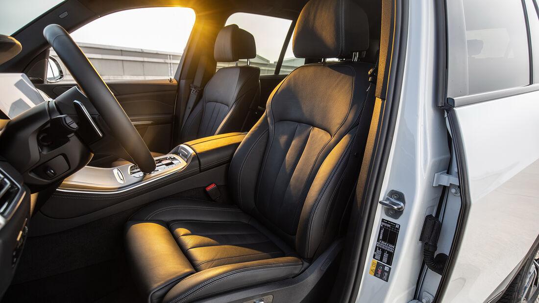 BMW X5 45e, Interieur