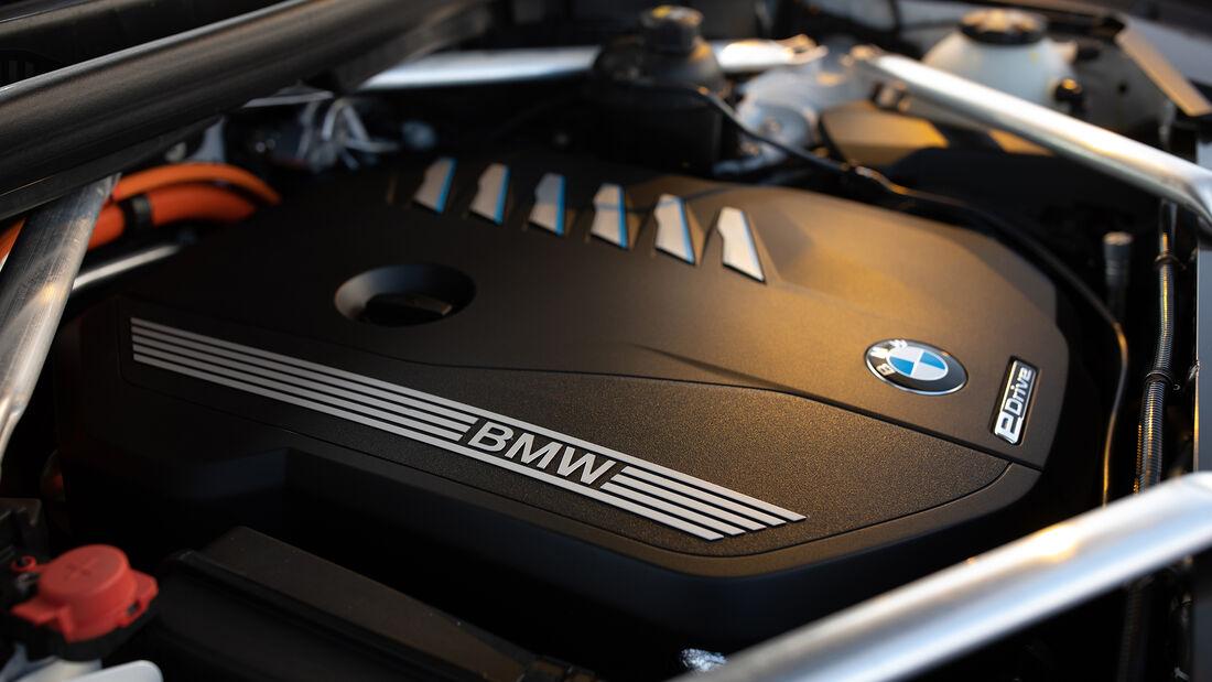 BMW X5 45e, Motorraum