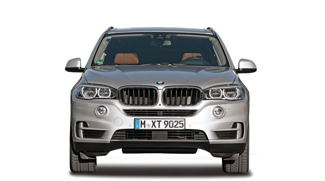 BMW X5, Abgastest auf der Straße, AMS2515