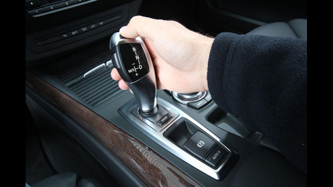 BMW X5, Automatik-Hebel