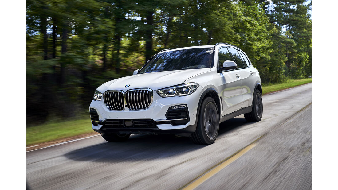 BMW X5, Exterieur